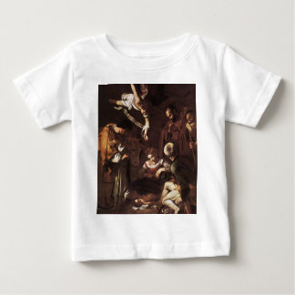 Caravaggio -Nativity with St Francis & St Lawrence Baby T-Shirt