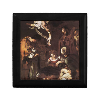 Caravaggio -Nativity with St Francis & St Lawrence Gift Box