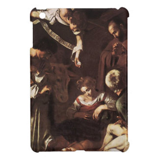 Caravaggio -Nativity with St Francis & St Lawrence iPad Mini Covers