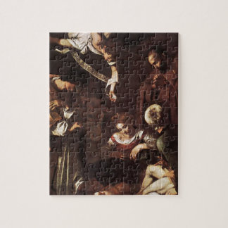 Caravaggio -Nativity with St Francis & St Lawrence Jigsaw Puzzle