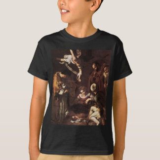 Caravaggio -Nativity with St Francis & St Lawrence T-Shirt