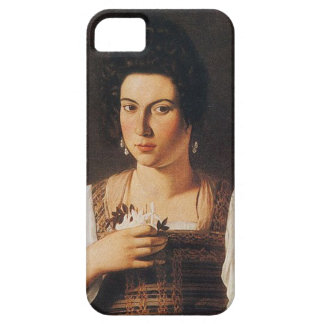 Caravaggio - Portrait of a Courtesan Painting Case For The iPhone 5