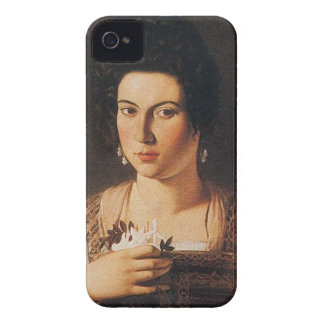Caravaggio - Portrait of a Courtesan Painting Case-Mate iPhone 4 Cases