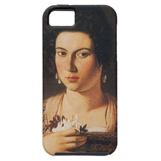 Caravaggio - Portrait of a Courtesan Painting iPhone 5 Case