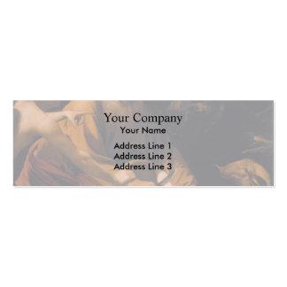 Caravaggio- Sacrifice of Isaac Business Card Template