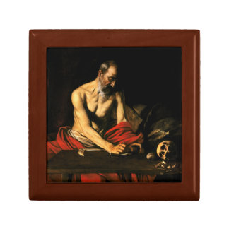 Caravaggio - Saint Jerome Writing Gift Box