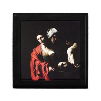 Caravaggio - Salome - Classic Baroque Artwork Gift Box