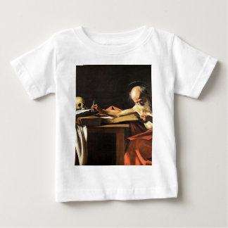 Caravaggio - San Gerolamo - Renaissance Painting Baby T-Shirt