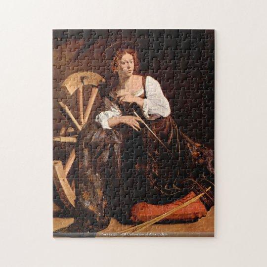 Caravaggio - St Catherine of Alexandria puzzle
