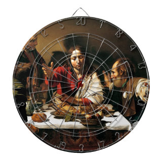 Caravaggio - Supper at Emmaus - Classic Painting Dartboard