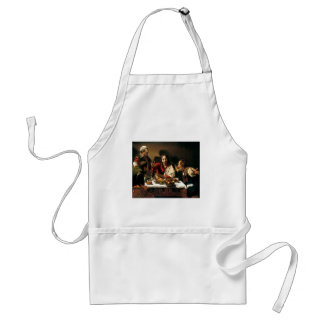 Caravaggio - Supper at Emmaus - Classic Painting Standard Apron
