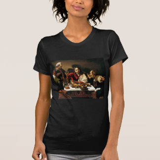 Caravaggio - Supper at Emmaus - Classic Painting T-Shirt