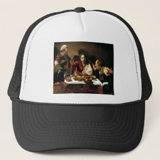Caravaggio - Supper at Emmaus - Classic Painting Trucker Hat