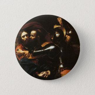 Caravaggio - Taking of Christ - Classic Artwork 2 Inch Round Button