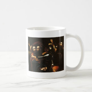 Caravaggio - Taking of Christ - Classic Artwork Coffee Mug