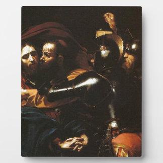 Caravaggio - Taking of Christ - Classic Artwork Plaque