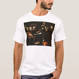 Caravaggio - Taking of Christ - Classic Artwork T-Shirt