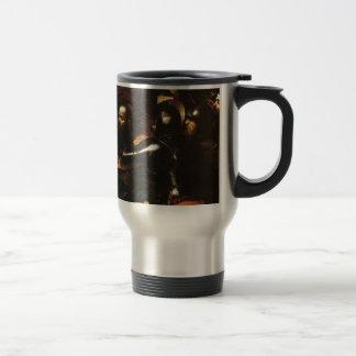 Caravaggio - Taking of Christ - Classic Artwork Travel Mug