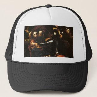 Caravaggio - Taking of Christ - Classic Artwork Trucker Hat