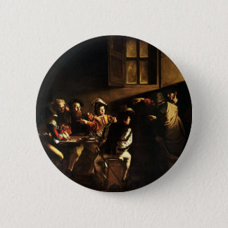 Caravaggio - The Calling of Saint Matthew 2 Inch Round Button