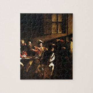Caravaggio - The Calling of Saint Matthew Jigsaw Puzzle