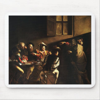 Caravaggio - The Calling of Saint Matthew Mouse Pad