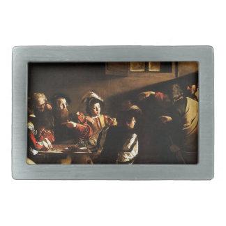 Caravaggio - The Calling of Saint Matthew Rectangular Belt Buckle