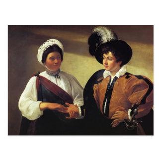 Caravaggio- The Fortune Teller Postcard
