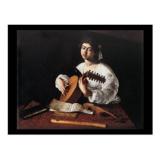 Caravaggio The Lute Player Postcard