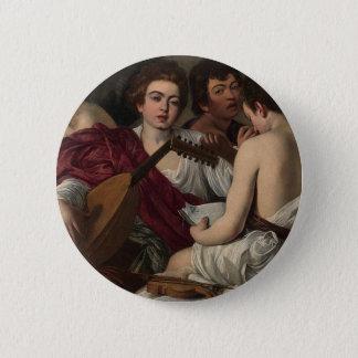 Caravaggio - The Musicians - Classic Artwork 2 Inch Round Button
