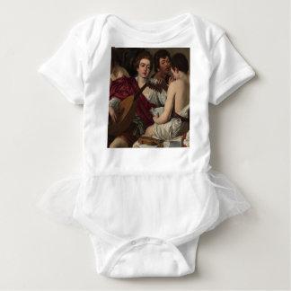 Caravaggio - The Musicians - Classic Artwork Baby Bodysuit