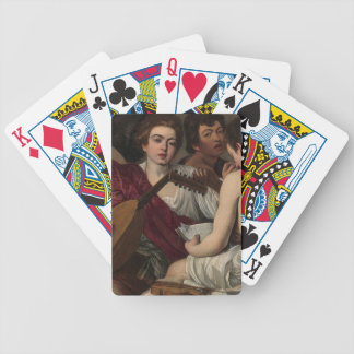 Caravaggio - The Musicians - Classic Artwork Bicycle Playing Cards