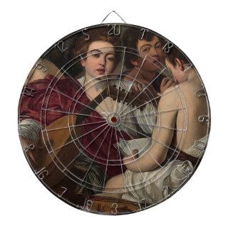 Caravaggio - The Musicians - Classic Artwork Dartboard