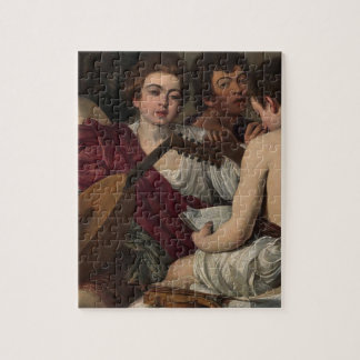 Caravaggio - The Musicians - Classic Artwork Jigsaw Puzzle