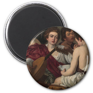 Caravaggio - The Musicians - Classic Artwork Magnet