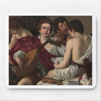 Caravaggio - The Musicians - Classic Artwork Mouse Pad