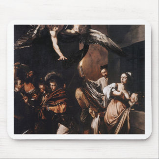 Caravaggio - The seven Works of Mercy Painting Mouse Pad