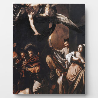 Caravaggio - The seven Works of Mercy Painting Plaque