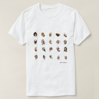 caravaggio's 20 faces T-Shirt