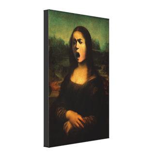 Caravaggio's Mona Medusa Canvas Print