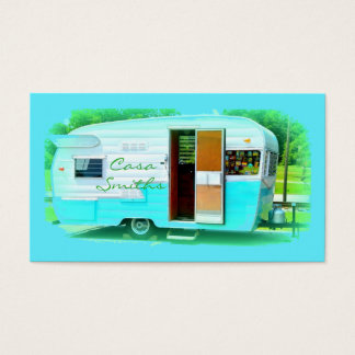 caravan casa Thunder_Cove Business Card