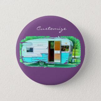 Caravan gypsy casa Thunder_Cove 2 Inch Round Button