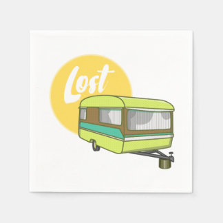 Caravan Lost Paper Napkins