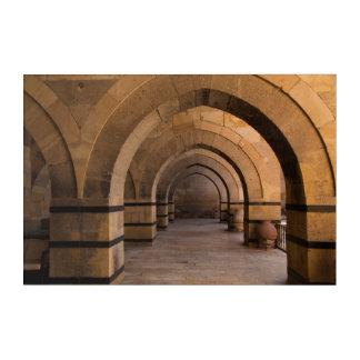 Caravanserais Arched Hall Acrylic Wall Art
