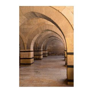 Caravanserais Architecture Acrylic Wall Art
