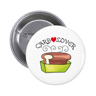 CARB LOVER 2 INCH ROUND BUTTON