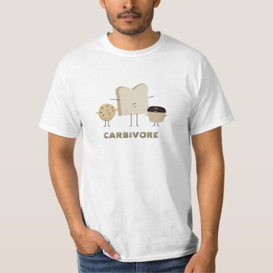 Carb Lovers Carbivore Funny T-Shirt