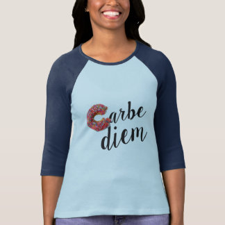 carbe diem play on carpe diem funny t-shirt design