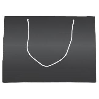 Carbon Black Bells Large Gift Bag