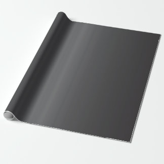 Carbon Black Bells Wrapping Paper